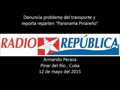 Denuncia problema de transporte en Cuba