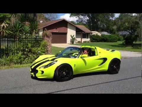 Lotus Elise Takeoff