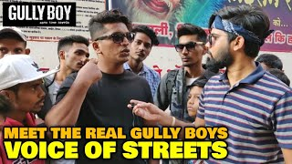 Real Gully Boys REACTION & OPINION On Gully Boy Movie | Ranveer Singh | Voice Of Streets |Admin Ravi