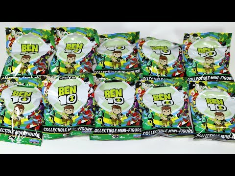 Ben 10 Blind Bags - Heatblast, Fourarms, Diamondhead, Ben Tennyson Collectibles
