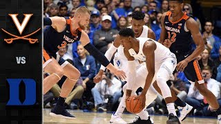 Virginia vs. Duke  Basketball Highlights (2018-19)