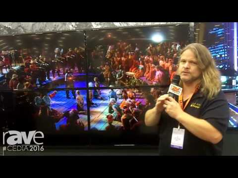 CEDIA 2016: Just Add Power Demos Video Walls Using 4K Over IP Products and Consumer TVs