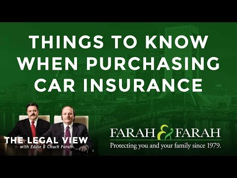 Things You Should Know When Purchasing Car Insurance in Florida