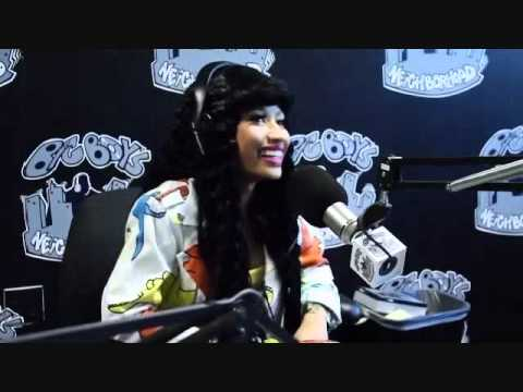 Nicki Minaj Talks About Sleeping Naked