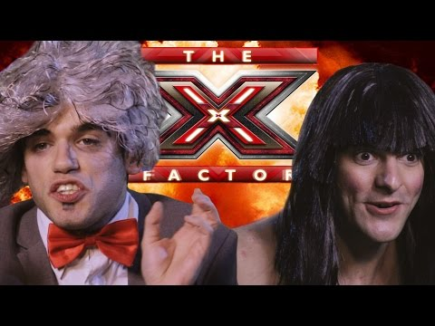 PARODIA X FACTOR - CLAMOROSO MORGAN RITORNA - iPantellas