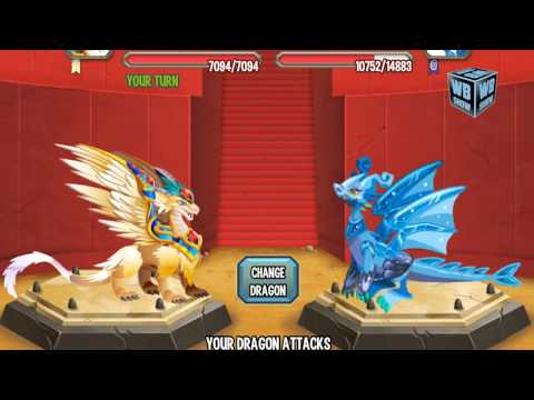 Dragon City Mobile: Archangel Dragon [BATTLE]