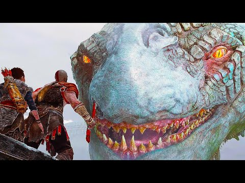 GOD OF WAR 4 Gameplay Trailer #2 E3 2017 (PS4 2018)