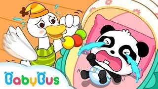 Mother Goose & Baby Panda Songs  + Lots More Nursery Rhymes | Compilation | BabyBus Kids Songs