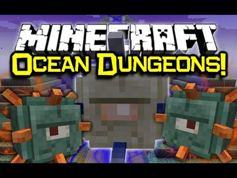 Minecraft 1.8 NEW OCEAN MOB, DUNGEON TEMPLE, & More! (Snapshot 14w25a/b)