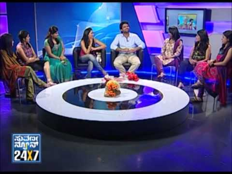 Seg _ 3 - Simple Couple with Suvarna girls - 17 Mar 2013 - Suvarna News