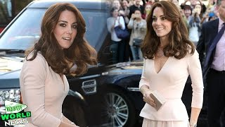 Kate Middleton Recycles Stunning Pink Dress