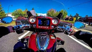 2017 Indian Roadmaster Test Ride!! - Beautiful Elegance! | BikeReviews