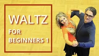 Easiest Waltz Video Lesson for Beginners | Natural Turn