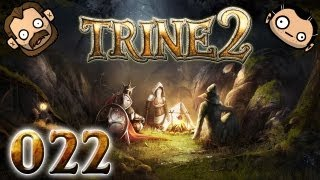 Let's Play Together Trine 2 #022 - Madeye mag Zahnräder [720p] [deutsch]