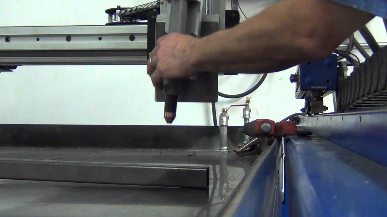 Magnetic Break Away Torch Mount Cnc Plasma Table Build