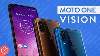 MOTOROLA ONE VISION o intermediário COM VISÃO NOTURNA! | Hands-on