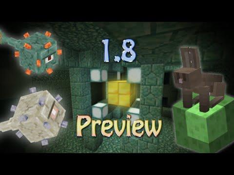 Minecraft: 1.8 UPDATE PREVIEW 1.8 Snapshot
