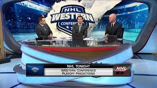 NHL Tonight talks Western Conference playoff picture  Jan 15,  2019