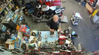 Moto Guzzi Engine and Gearbox Build, stop motion video