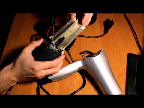 Как отремонтировать фен витек