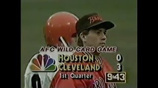 1988 AFC Wild Card - Oilers vs. Browns