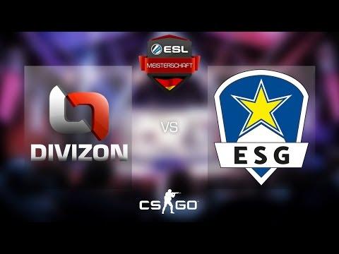 CS:GO - Divizon vs. Euronics [Train] Map 1 - Semifinal - ESL Meisterschaft Winter Finals 2016