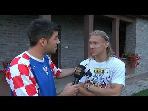 Domagoj Vida u Donjem Miholjcu - doček i intervju