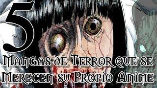 Top 5 Mangas de Terror que se Merecen su Propio Anime    RPNety