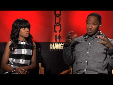 Kerry Washington and Jamie Foxx's Official 'Django Unchained' Interview