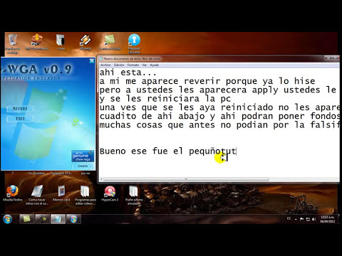 compilacion 7601 de windows 7 no es  original