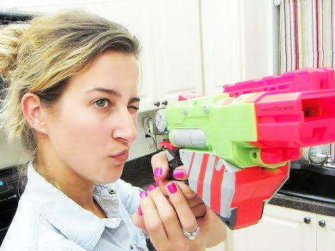 NERF GUN SHOOTOUT!! (6.25.12 - Day 1152)