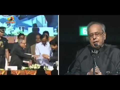 Uniki Book Launch | President Pranab Mukherjee appreciates Vidyasagar Rao | Mango News