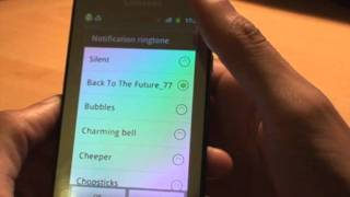 How to Set Default Notification / Email / Text Ringtone on Android Smartphone