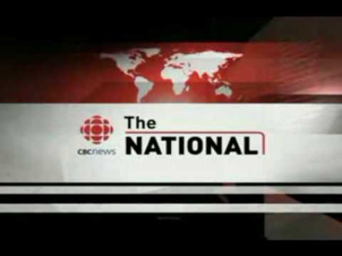 The opening for CBC News: The National, from January 9, 2006 (or around this date) to October 25, 2009. Credits to: --- News Music Plus - http://www.sfu.ca/~...