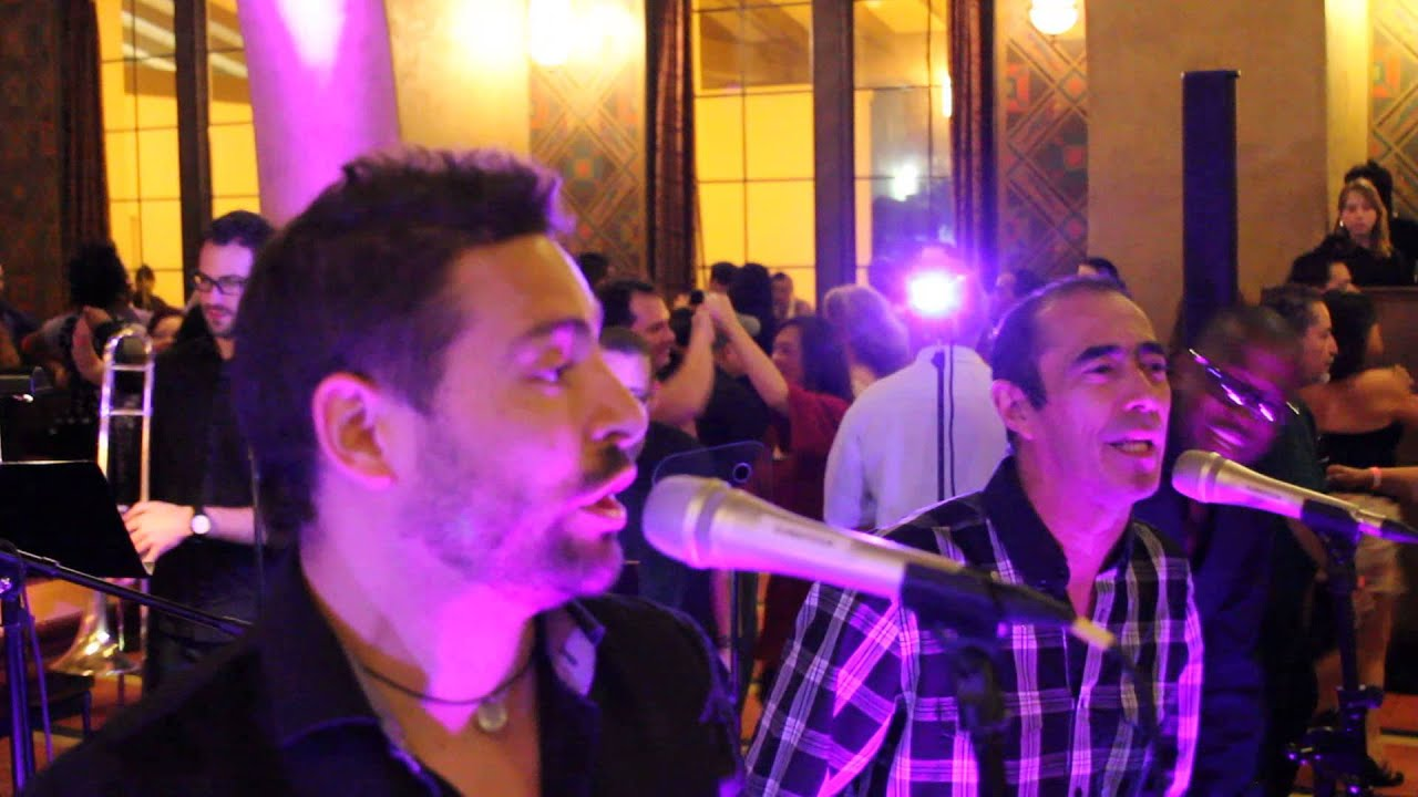 2014 1st of the Year Bash Live Salsa band La Picante at Union Station ...