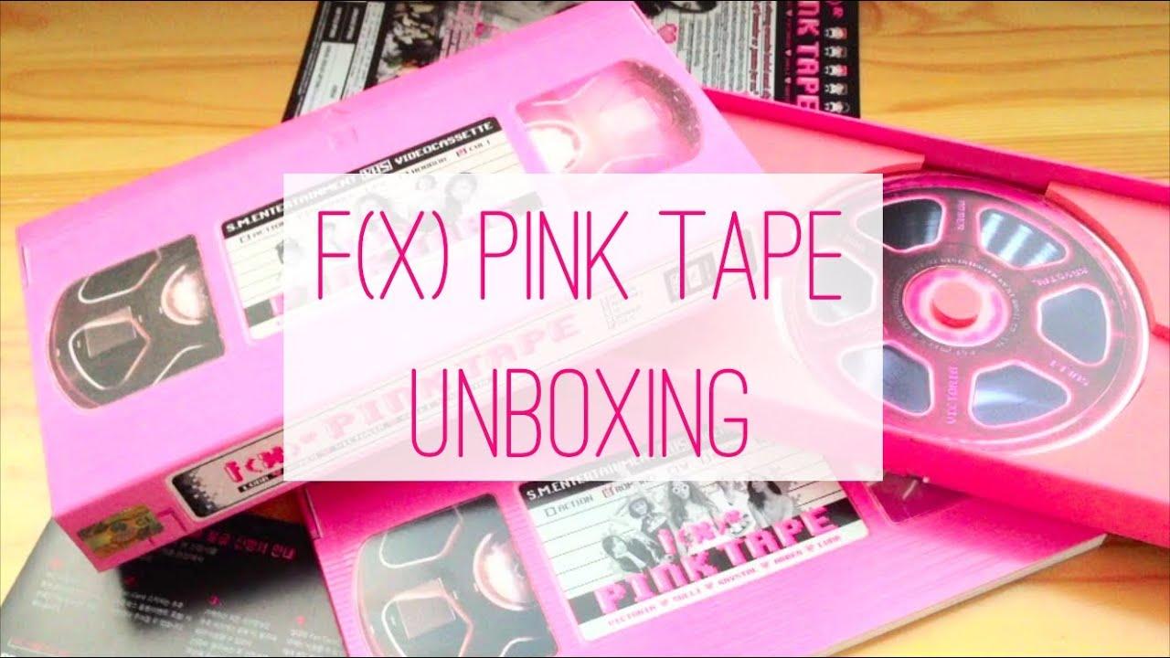 f x  Pink Tape A    F(x) Pink Tape Album