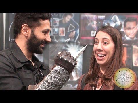 COMIKAZE 2014: Cas Anvar of Assassin's Creed talks about the Hidden Blade