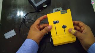 Realme Ear phone with Mic (Black) ! Unboxing & Review Hindi! Budget Earphone Rs.499