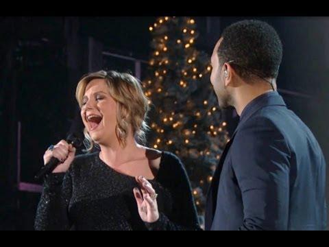 "John Legend & Jennifer Nettles ""O Holy Night"" Performance CMA Country Christmas On ABC"