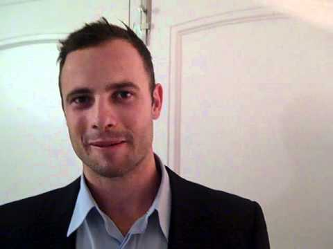 Interview with  Oscar Pistorius of the South Africa Olympic team
