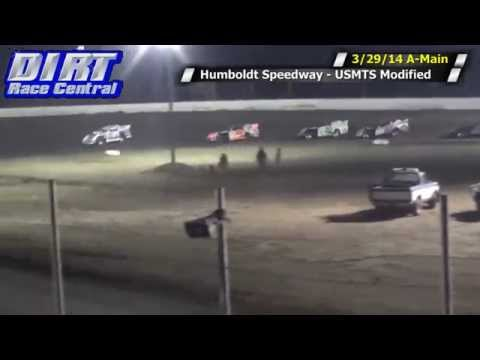 Humboldt Speedway 3 29 14 USMTS Modified A Main