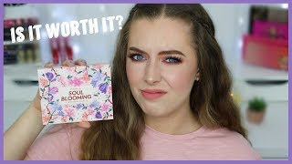 Nabla Soul Blooming Eyeshadow Palette | First Impression Review & Demo | Beauty District