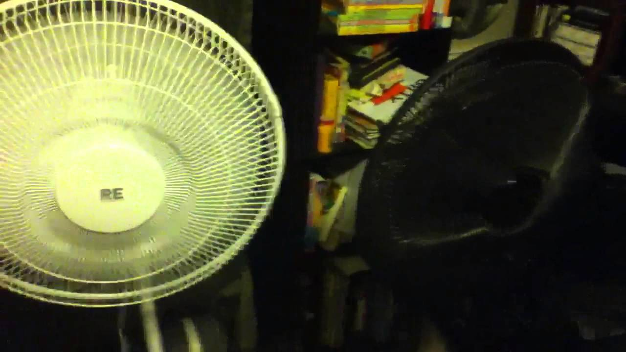 From Smc Stand Fan : Quot holmes re room essentials pedestal fan comparison