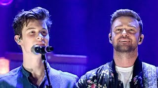 Download Lagu Shawn Mendes SURPRISES Fans with Justin Timberlake Duet at iHeartRadio Festival Gratis STAFABAND