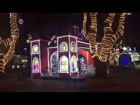 Veja decoração do Natal Encantado de Feira de Santana