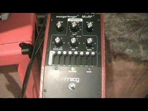 demo Moog murf avec guitare