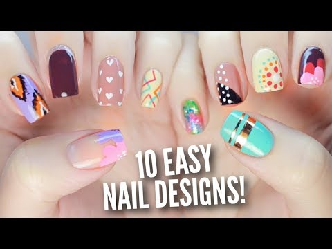 New Nail Art Compilation 2018 Best Satisfying Nail Art Designs