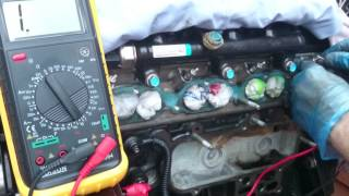 Glow plugs fault solution Kia Sedona 2.9 CRDi