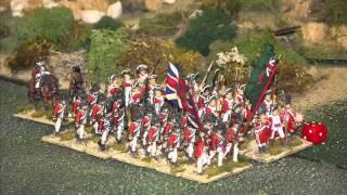 Battle 54. American War of Independence Pitched Battle. British v Americans. Peter Pig. 28mm