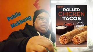 Taco Bell Rolled Chicken Taco's/Mukbang/Eating Show